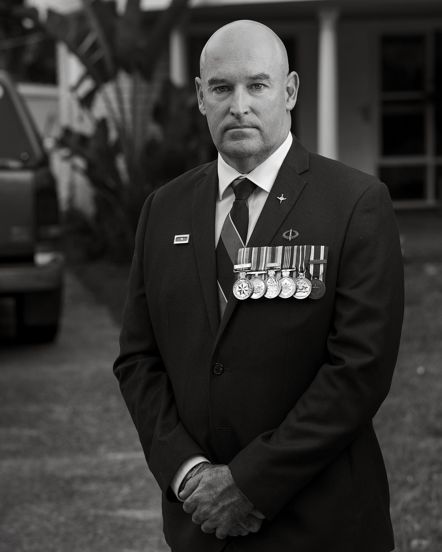 Tim West | 47 | Australian Army