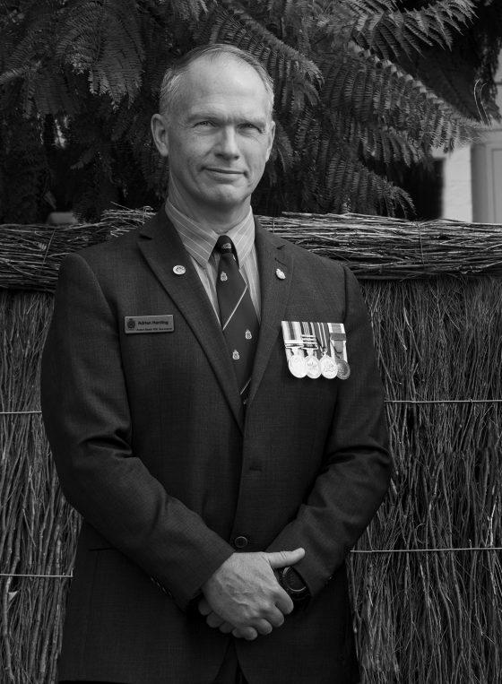 Adrian John Harding | 52 | Australian Army