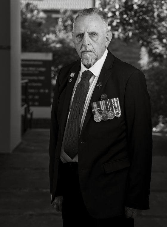 Garry Warren Luscombe | 78 | Australian Army