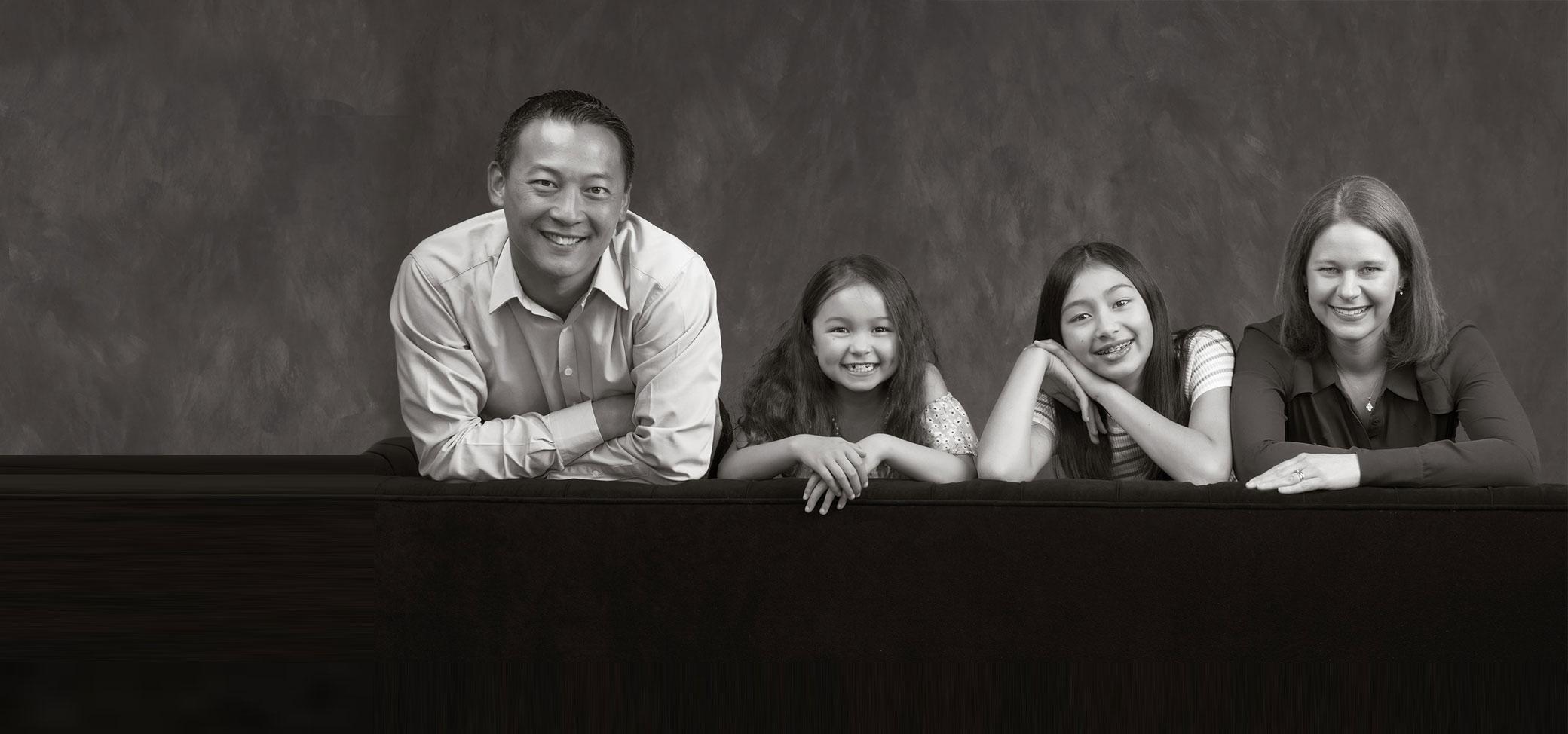 Family Portrait Banner