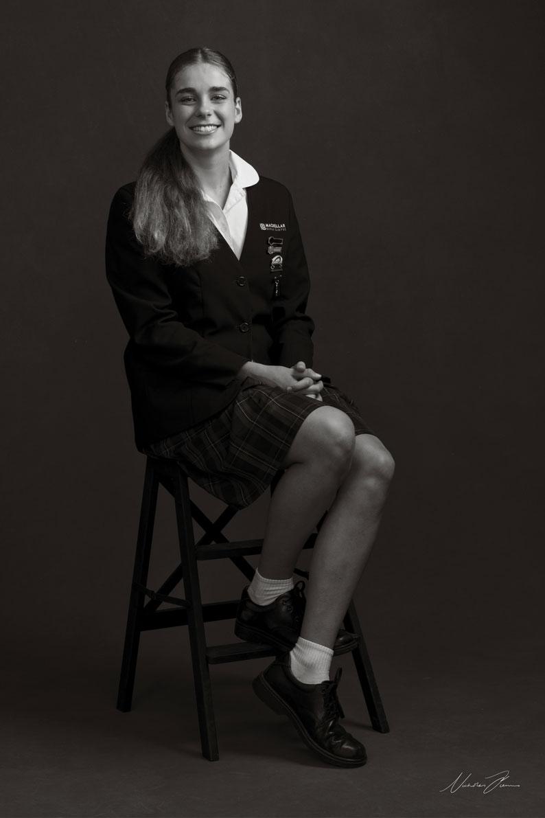 Milla Papallo – Mackellar Girls Campus School Captain