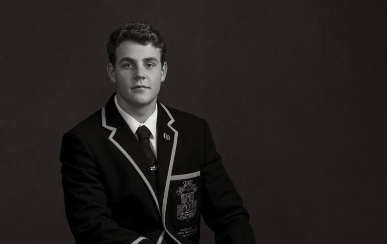 Max McCathie – Scots College Head Prefect